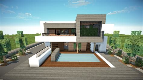 home design gold tutorial minecraft how to build a modern house 1 8 7 best modern