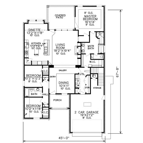 perry home plans perry house plans floor plan 6157 46 c 2017