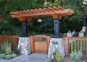 Japanese Chairs For Sale Mill Valley Craftsman Entry Arbor Craftsman Landscape