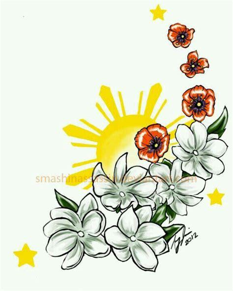 filipino flower tattoo designs 33 best images on philippines