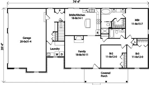 Cheerful Ranch House Plan 22070sl 1st Floor Master Suite Cad Available Corner Lot Pdf | cheerful ranch house plan 22070sl 1st floor master
