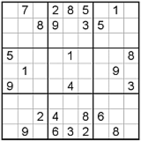 printable sudoku quizzes strengthen your logic with these free printable sudoku puzzles