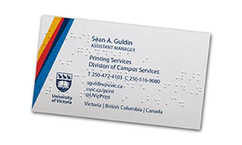 Bureau Of Land Management Business Card Template by Department Of Printing Services Of