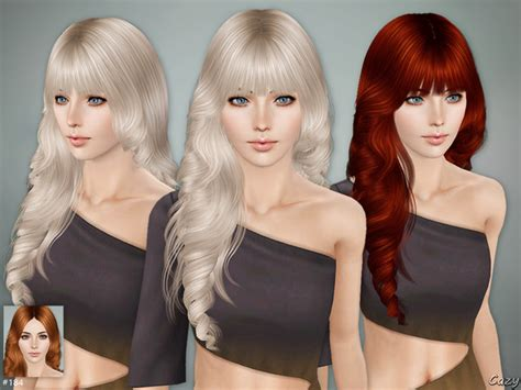 sims 3 cheats for hairstyles cazy s lisa hairstyle set sims 3