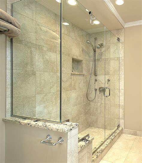 knee wall bathroom showerhaus shower with knee wall