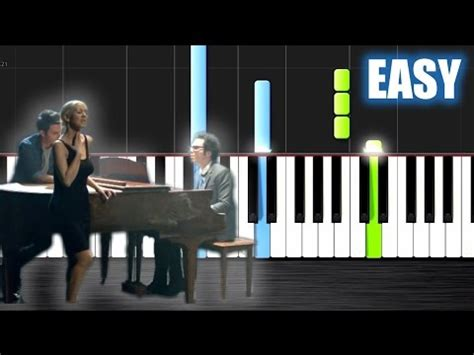 say something keyboard tutorial easy a great big world christina aguilera say something