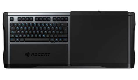 Keyboard And Mouse Mat by Roccat Sova Modular Wireless Keyboard With Mouse Pad