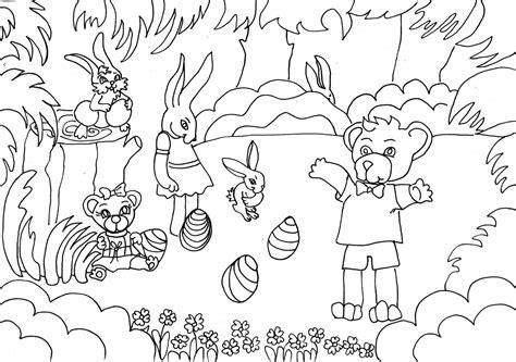 imagenes para pintar sobre la primavera dibujo colorear brother bear telling a story dibujo de