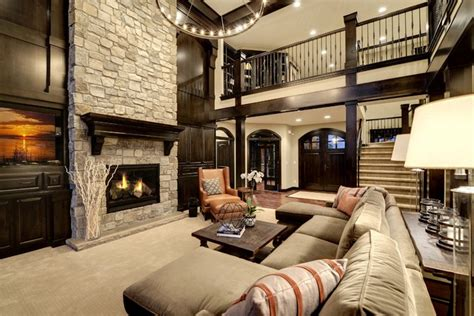 living home dream home living room transitional living room minneapolis by divine custom homes