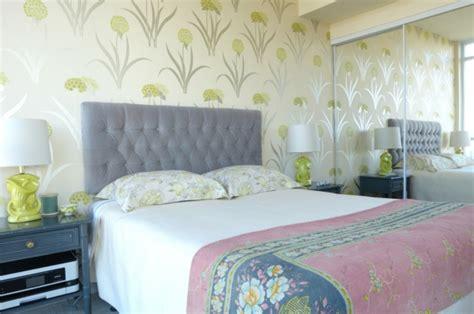 Schlafzimmer Tapeten Beispiele by Schlafzimmerwand Gestalten Interessante Ideen Zum Nachfolgen