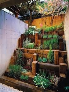 herb garden raised bed outside