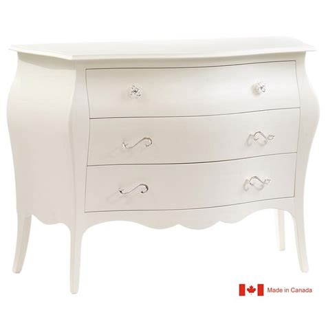 3 Drawer Dressers by Natart Allegra 3 Drawer Dresser In White Ideal Baby