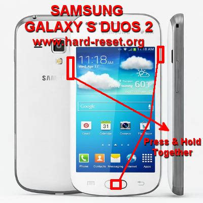 how to easily master format samsung galaxy s duos 2 s7582