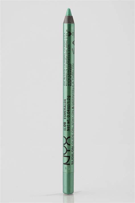 Nyx Eyeliner Pencil nyx slide on eye liner pencil