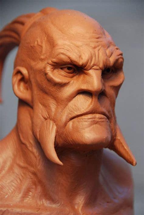 imagenes de representaciones realistas mark newman clay sculpture zbrush pinterest