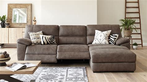 chaise recliner sofa attractive leather sectional sofa