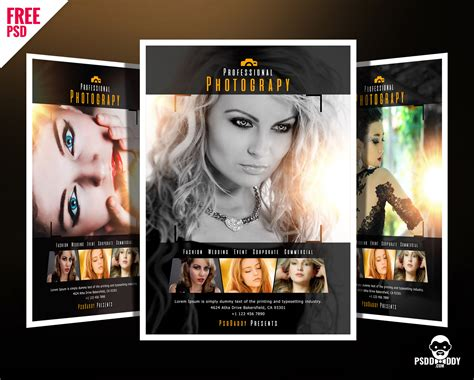 photography flyers templates free professional photography flyer psd psddaddy