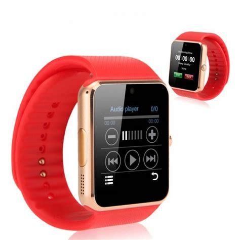 Smart Gt 08 Wearables Intl smartwatch gt08 compatibil android cu sim