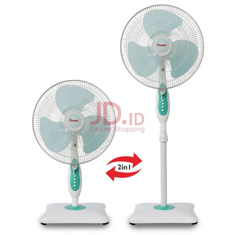 Cosmos Kipas Angin 2in1 16swa jual cosmos stand fan 2in1 16 inch 16 sbi jd id