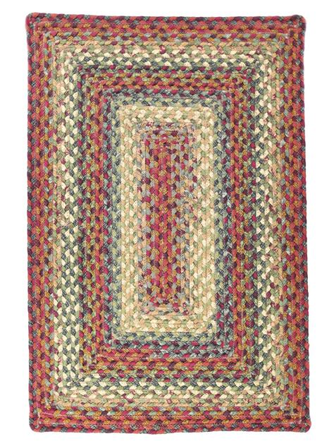 rugs cotton neverland cotton braided rug cottage home 174