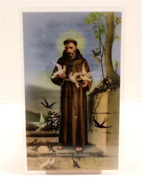 Hu Ze Lu Mba St Francis by St Francis Of Assisi Prayer Card Lucky New Products