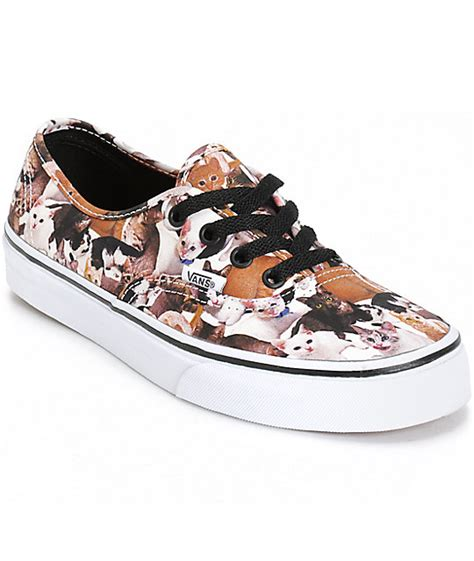 kittens shoes vans x aspca authentic kittens shoes womens at zumiez pdp