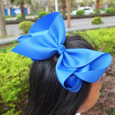big bow pictures 8 inch large hair bow baby bow boutique big bow hairpins hair 40 colors