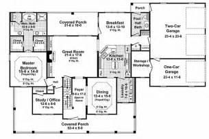 floor plan for 3000 sq ft house country style house plan 4 beds 3 5 baths 3000 sq ft