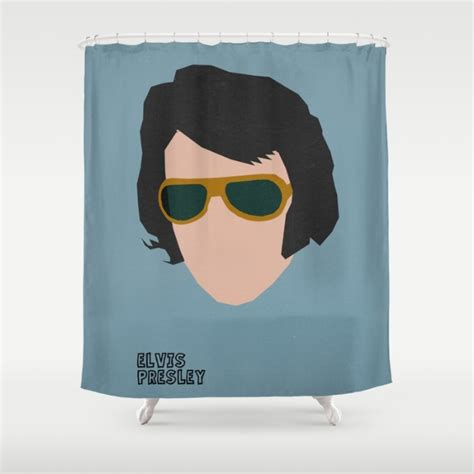 elvis shower curtain sbs is icelandic pop art and more
