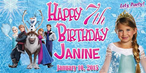 free download of tarpaulin layout birthday tarpaulin disney frozen theme template by