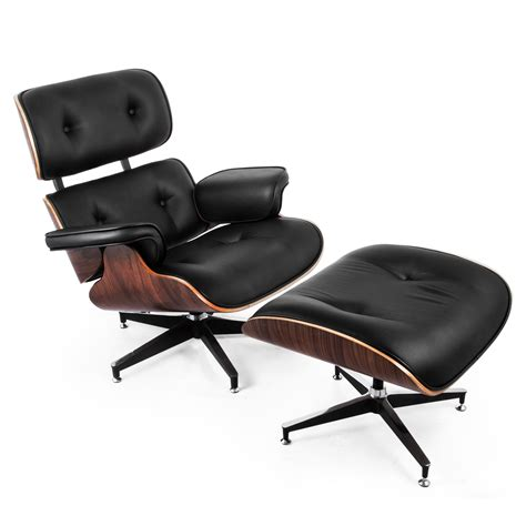 Classic Lounge Chair And Ottoman Pu Comfortable Italian Eames Lounge Chair And Ottoman Ebay