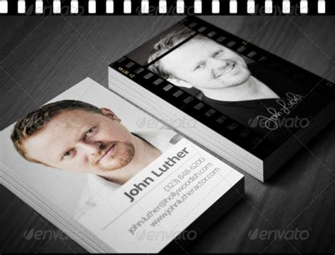 actor business card template 14 actor business card designs templates psd ai