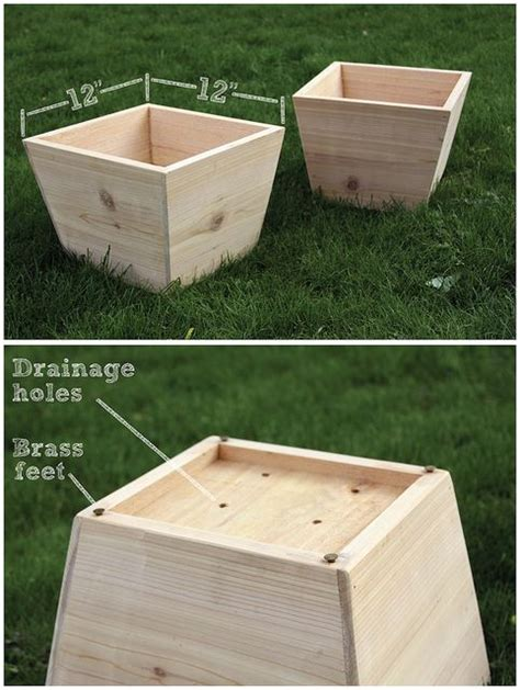 Herb Planter Box Plans by Cedar Wood Planter Woodworking Projects Plans