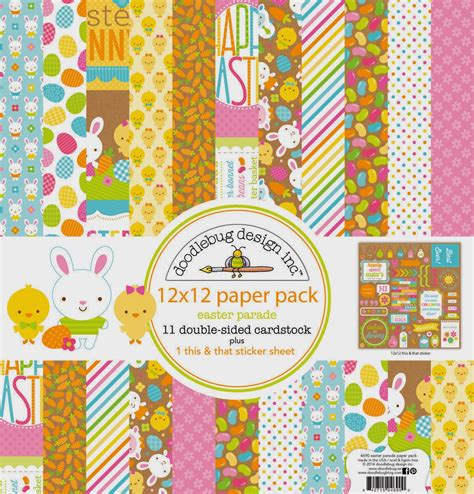 doodlebug easter collection doodlebug easter parade