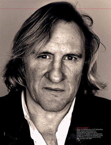 gerard depardieu tattoos movies with gerard depardieu