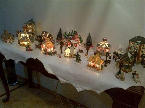 miniature christmas village christmas village pinterest