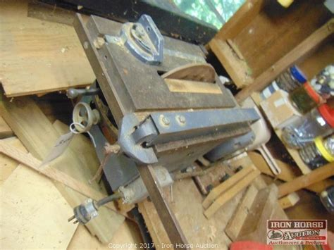 woodworking tools nc iron auction auction tractor woodworking