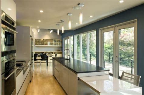 wonderful Long Narrow Kitchen Table #1: modern-long-narrow-kitchen.jpg
