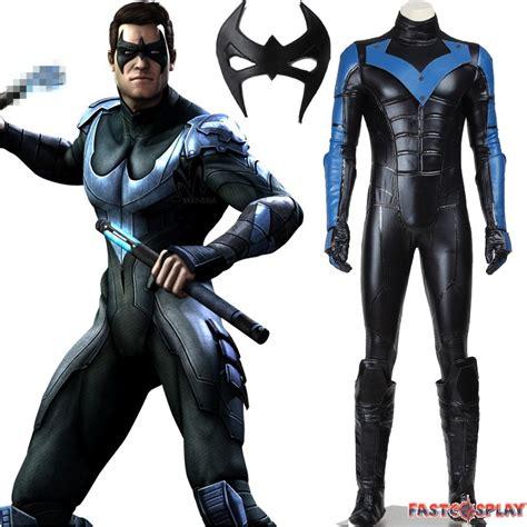Batman Black Costume arkham city nightwing costumes