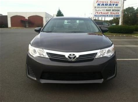 export used 2012 toyota camry le gray on black