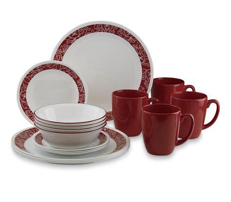 corelle livingware 16 dinnerware set bandhani