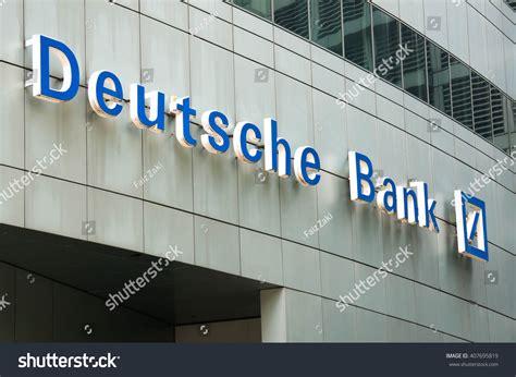 deutsche bank investment services kuala lumpur malaysia april 10 2016 stock photo 407695819