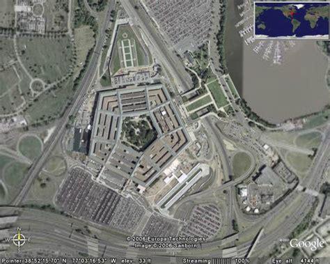 washington dc map pentagon pentagon in earth earth cool places