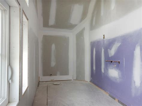 what drywall to use in a bathroom mold resistant drywall hgtv