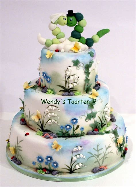 A Wedding Cake by A Wedding Cake For Nature Cakecentral