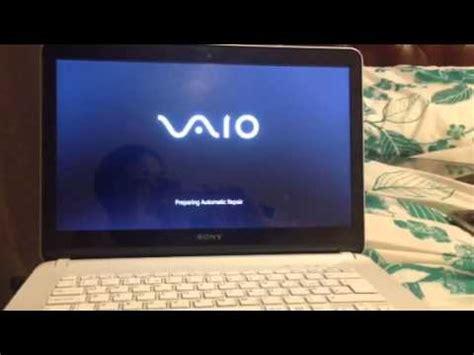 black screen sony vaio  series windows   pl