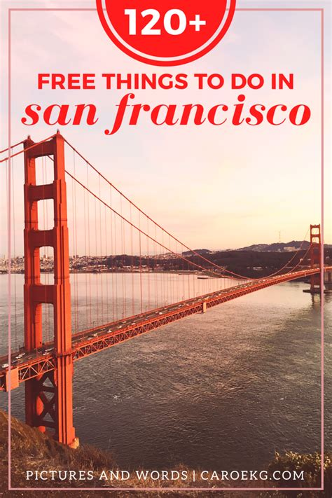 7 Things To Do In San Francisco by Pictures Words