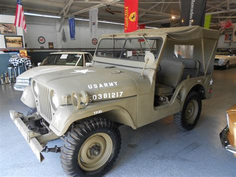 M38 Jeep Parts 1952 Willys Jeep Millitary M38 A1 For Sale