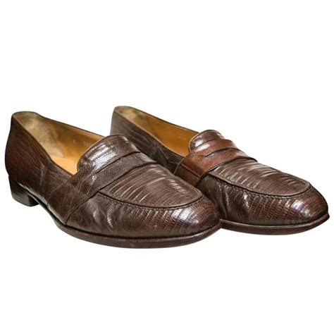 ralph mens loafers ralph mens lizard loafers at 1stdibs