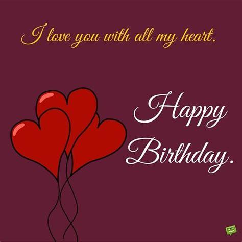 Happy Birthday Wishes For Lover Happy Birthday To My Husband